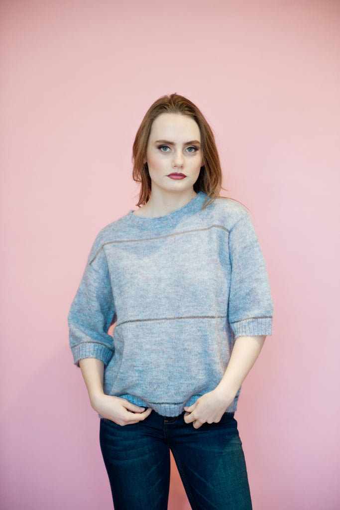 Periwinkle Sparkle Sweater