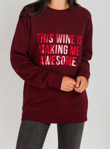 BTL Holiday Collection - This Wine Crew in Burgundy