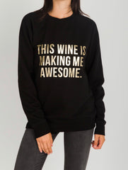BTL Holiday Collection - This Wine Crew in Black & Gold