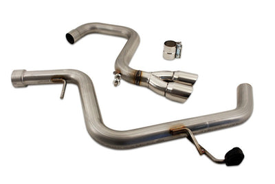 Cat-Back Exhaust System for VW Golf TDI (2009-2014) - Rawtek Performance Fabrication Inc.