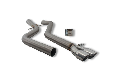 Cat-Back Exhaust System for VW Jetta TDI (2011-2013)