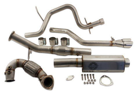 Jetta TDI (2014) DPF & EGR Delete Performance Exhaust Kit