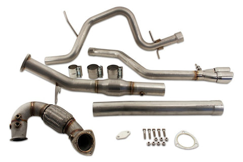 Jetta TDI (2014) DPF & EGR Delete Performance Exhaust Kit - Rawtek Performance Fabrication Inc.
