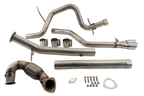 Vw Tdi Performance >> Jetta Tdi 2014 Dpf Egr Delete Performance Exhaust Kit
