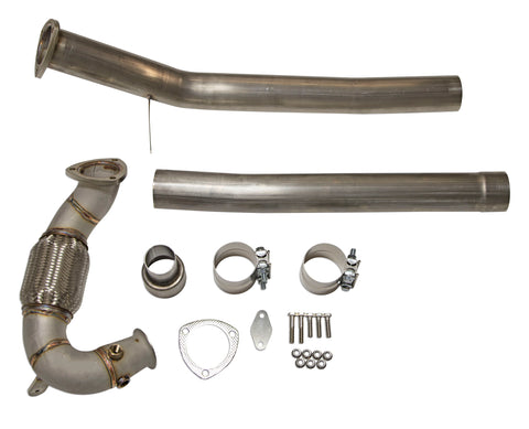 Jetta TDI (09-10) DPF & EGR Delete Exhaust ECO Parts Kit - (tuning required)