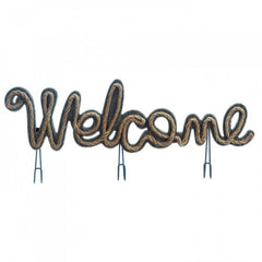 Welcome Sign With Hooks