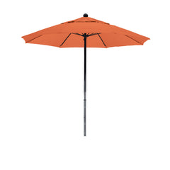 7 1/2 Foot Sunbrella 3A Fabric Complete Fiberglass Frame Pulley Lift Patio Patio Umbrella
