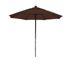 7 1/2 Foot Sunbrella 4A Fabric Complete Fiberglass Frame Pulley Lift Patio Patio Umbrella