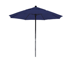 7 1/2 Foot Sunbrella 1A Fabric Complete Fiberglass Frame Pulley Lift Patio Patio Umbrella