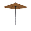 7 1/2 Foot Sunbrella 5A Fabric Complete Fiberglass Frame Pulley Lift Patio Patio Umbrella