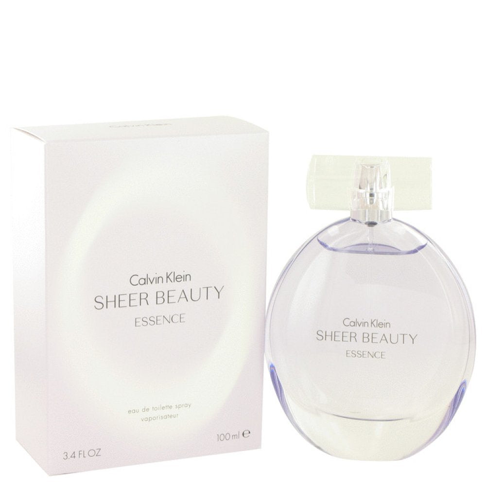 Sheer Beauty Essence By Calvin Klein Eau De Toilette Spray 3.4 Oz