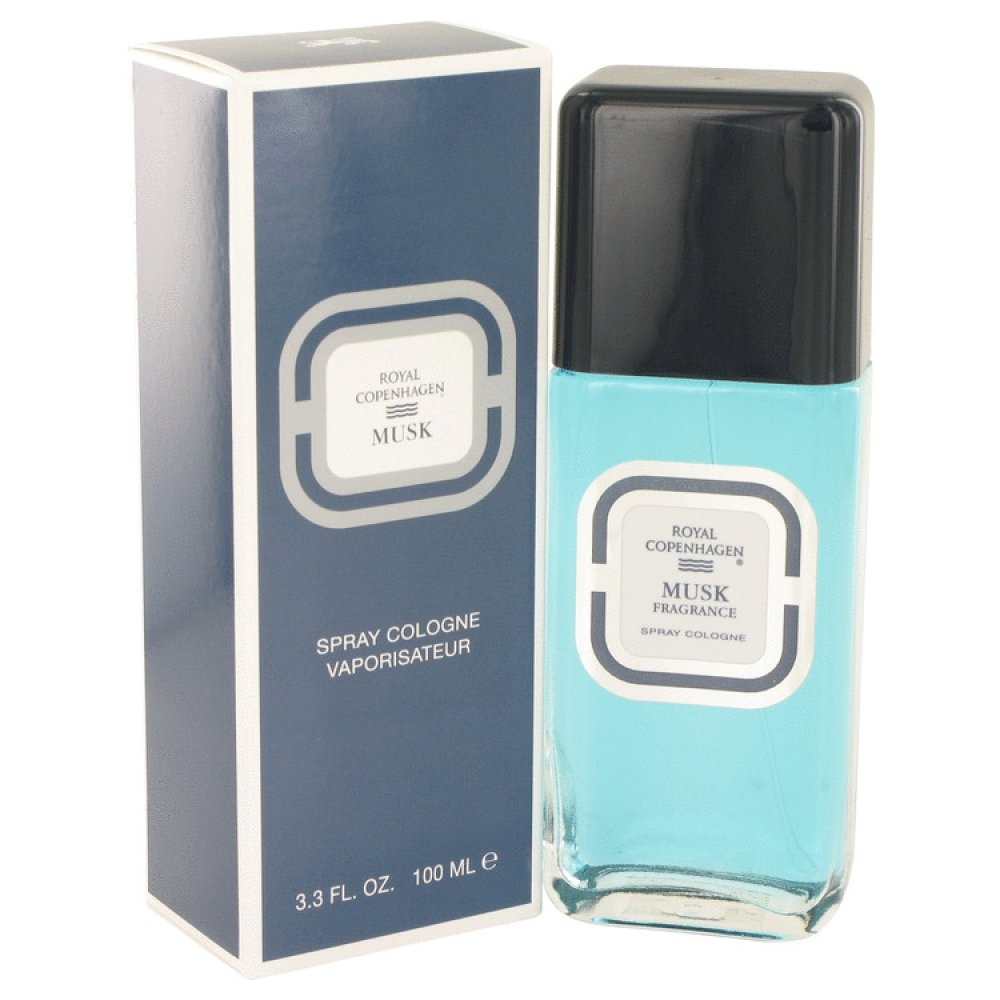 Royal Copenhagen Musk By Royal Copenhagen Cologne Spray 3.3 Oz
