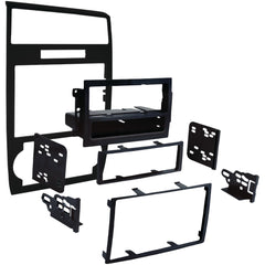 Metra 2005-2007 Dodge Charger Single-din And Double-din Installation Kit Matte Black
