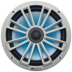 "Mb Quart Nautic Series 8"" 140-watt 2-way Coaxial Speaker System (with Led Illumination)"