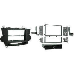 Metra 2008-2012 Toyota Highlander Without Navigation Single- Or Double-din Installation Kit