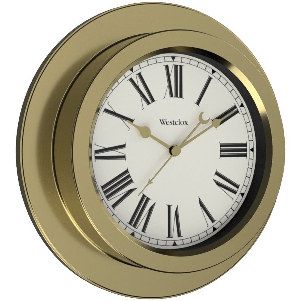 "Westclox 9.75"" Nautical Wall Clock"