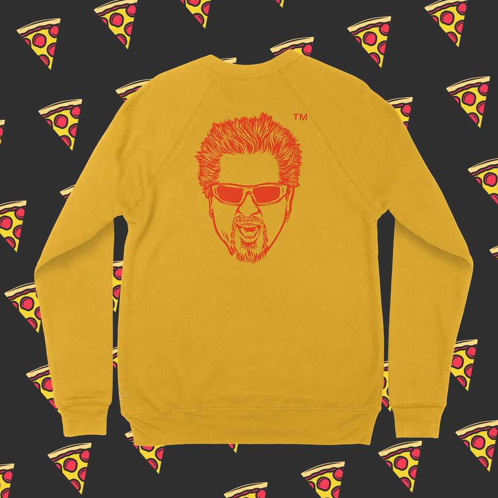 Flame Grilled Crewneck