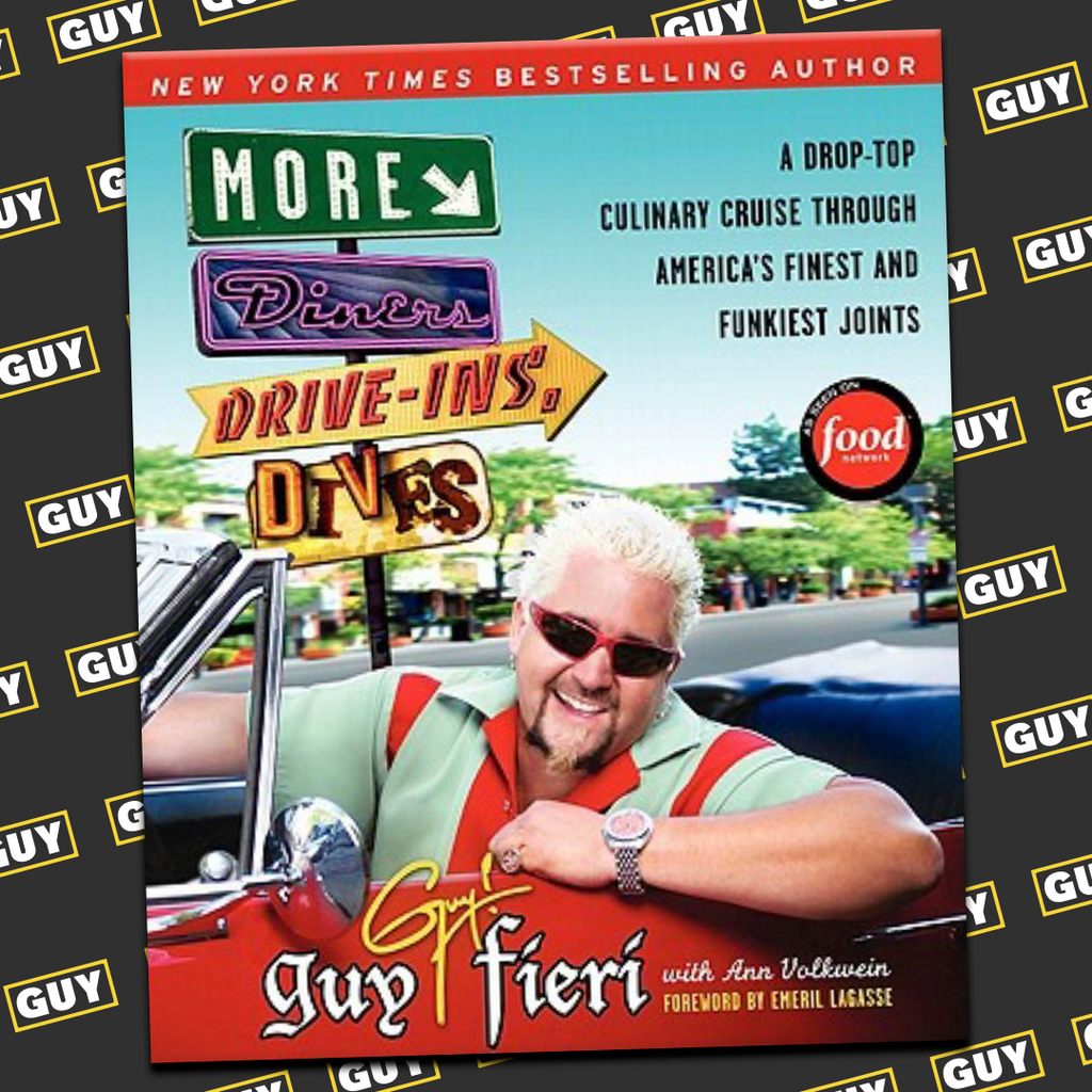 * SIGNED* More Diners, Drive-ins and Dives: A Drop-Top Culinary Cruise Through America's Finest and Funkiest Joints