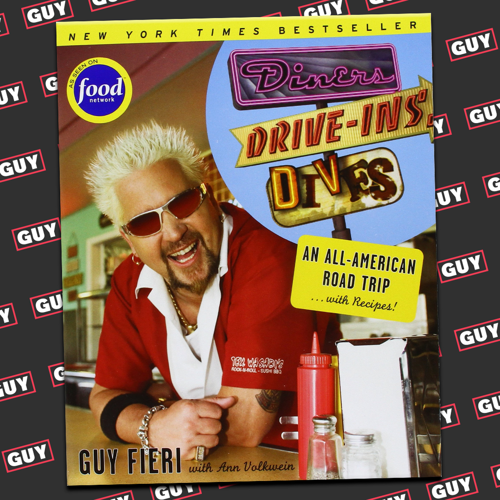*SIGNED* Diners, Drive-ins and Dives: An All-American Road Trip . . . with Recipes!