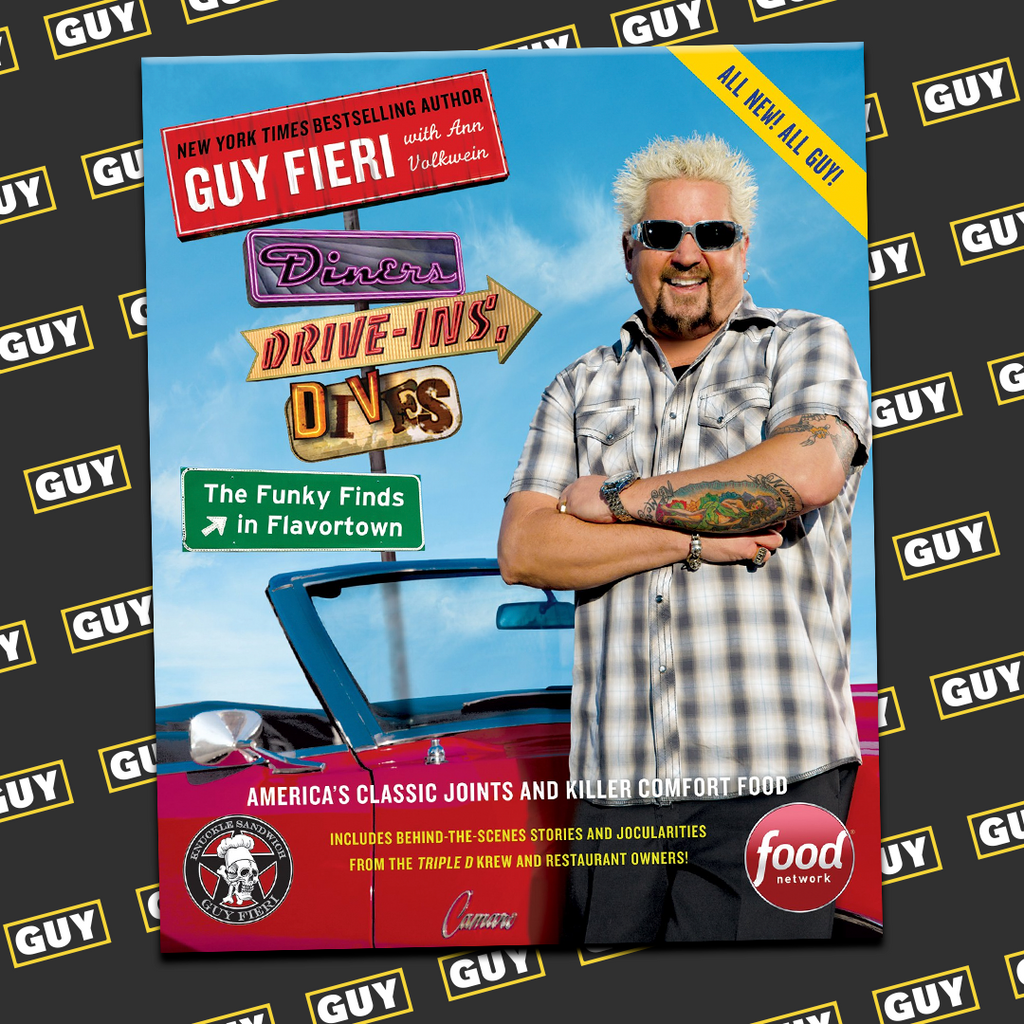 *SIGNED* Diners, Drive-Ins, and Dives: The Funky Finds in Flavortown: America's Classic Joints and Killer Comfort Food