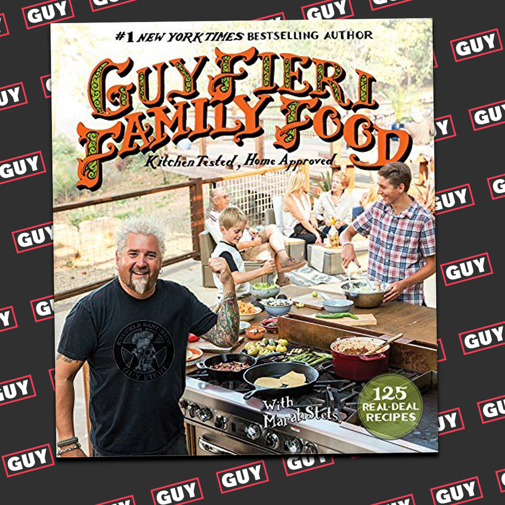 *SIGNED* Guy Fieri Family Food: 125 Real-Deal Recipes - Kitchen Tested, Home Approved