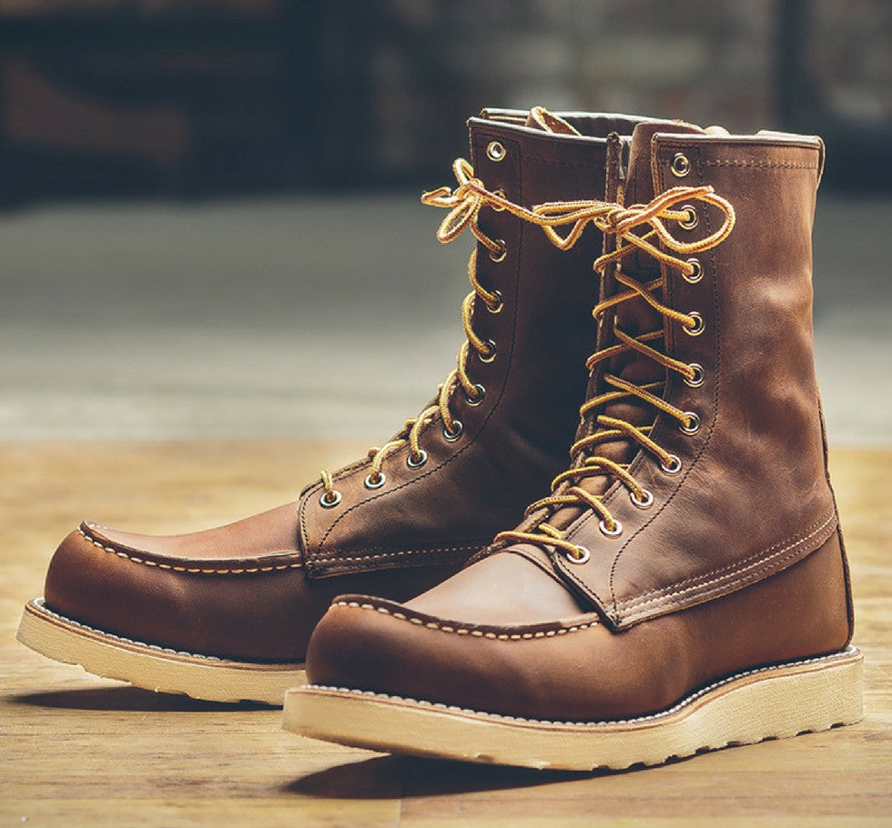 RED WING HERITAGE 8830 WORK BOOTS