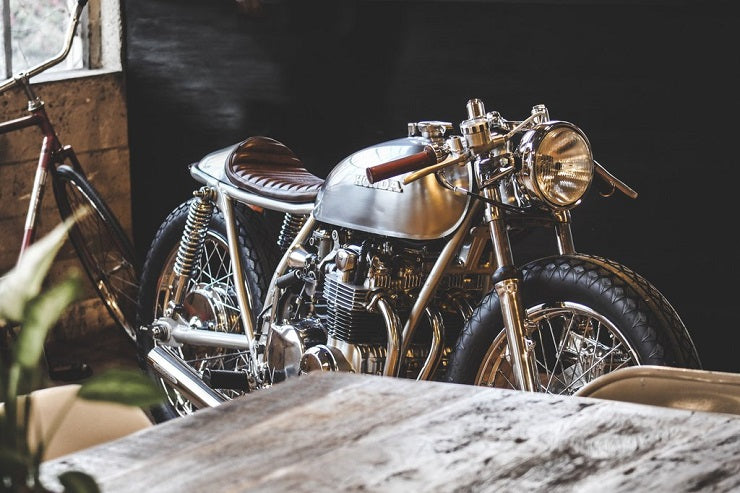 AMBER' HONDA CB550 BY THIRTEEN AND COMPANY