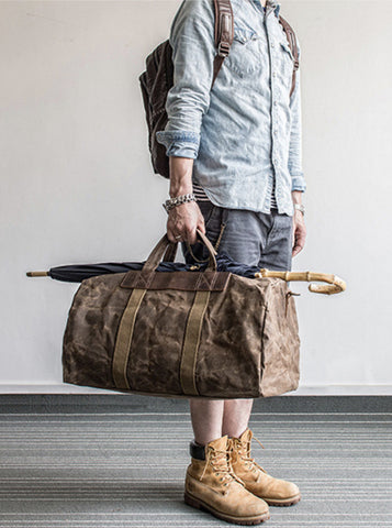 WAXED CANVAS WEEKENDER NO.41