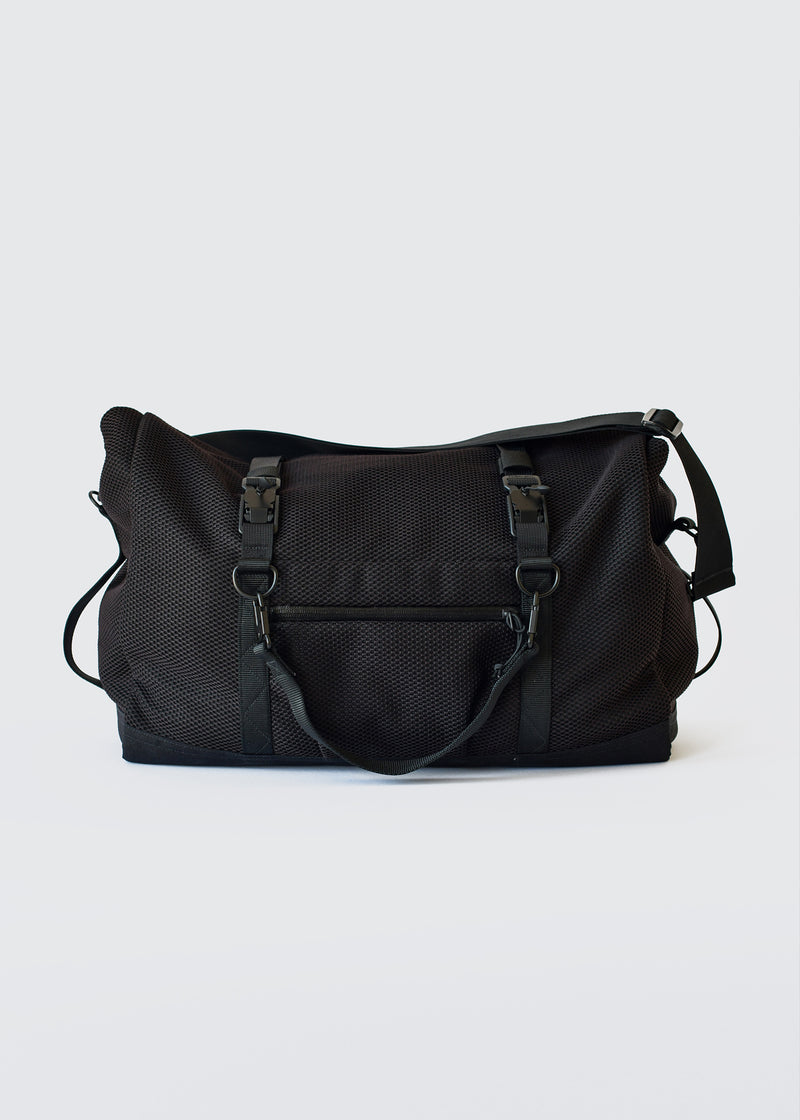 A02 - ROLL TOP DUFFEL - BLACK AFT - Wilson & Willy's - MPLS Neighbor Goods