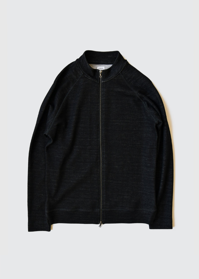 009 - SHORT COLLAR ZIP - BLACK - Wilson & Willy's - MPLS Neighbor Goods