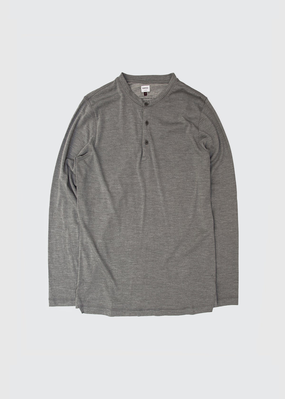105 - LS HENLEY - GRAY - Wilson & Willy's - MPLS Neighbor Goods