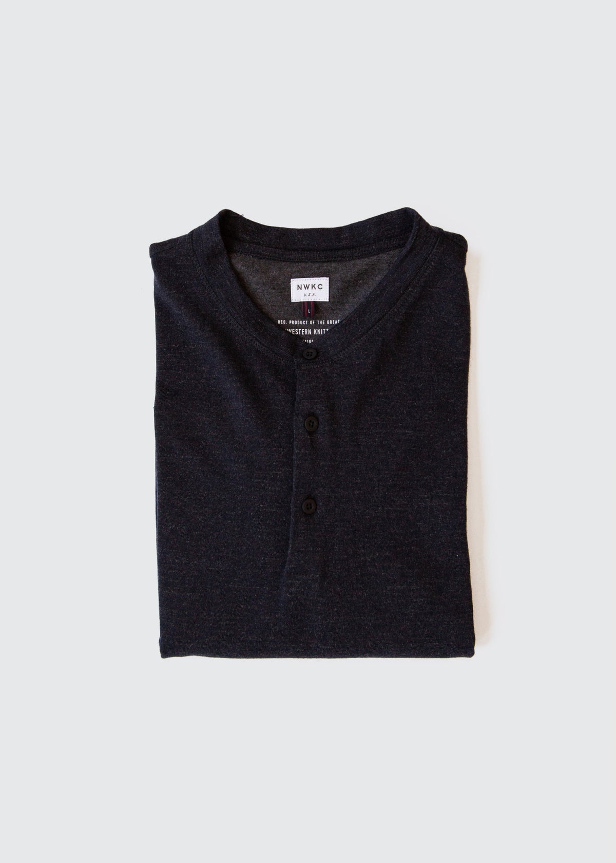 105 - LS HENLEY - NAVY - Wilson & Willy's - MPLS Neighbor Goods