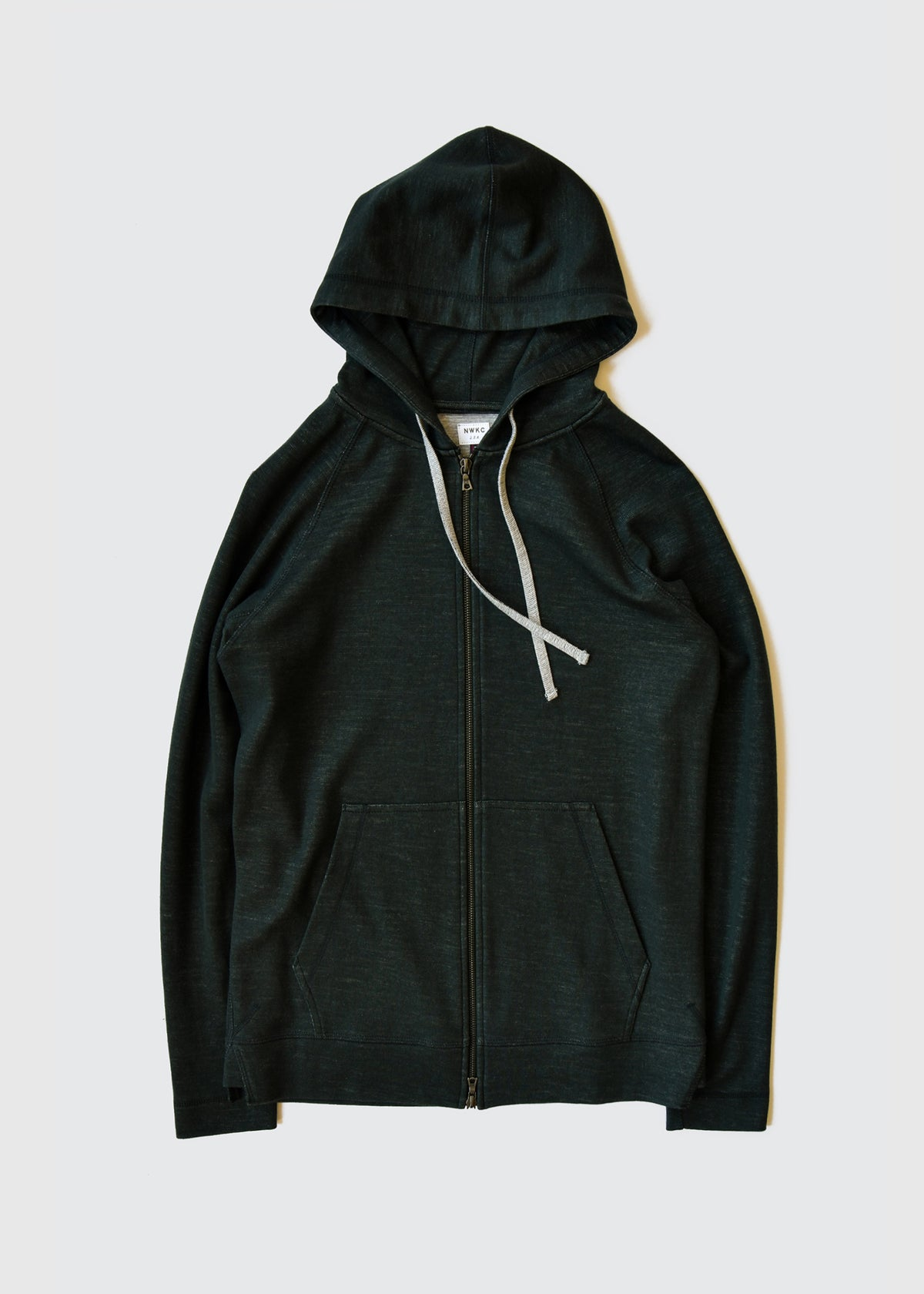 006 - HOODED ZIP - FOREST