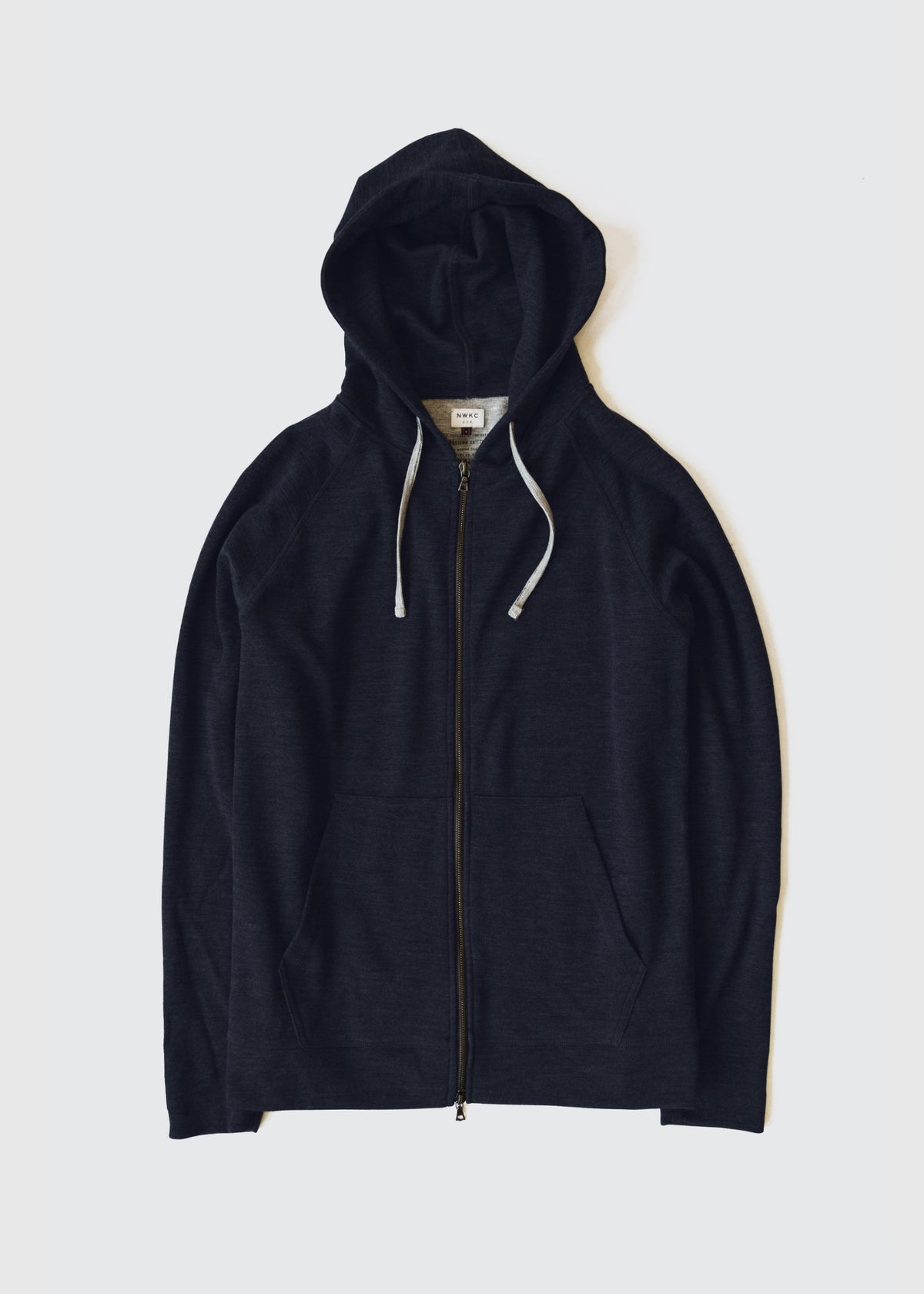 006 - HOODED ZIP - NAVY - Wilson & Willy's - MPLS Neighbor Goods