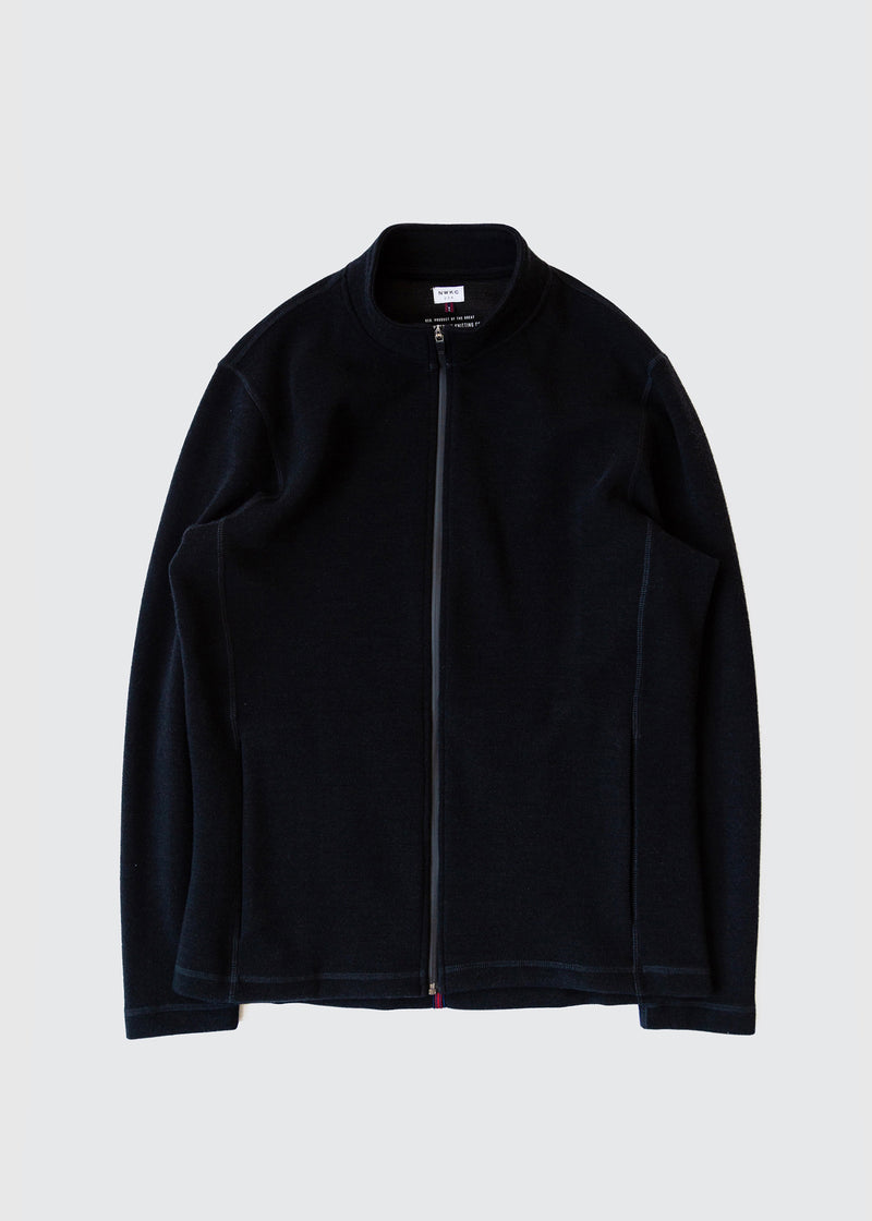 202 - NYLON COLLAR ZIP - BLACK - Wilson & Willy's - MPLS Neighbor Goods