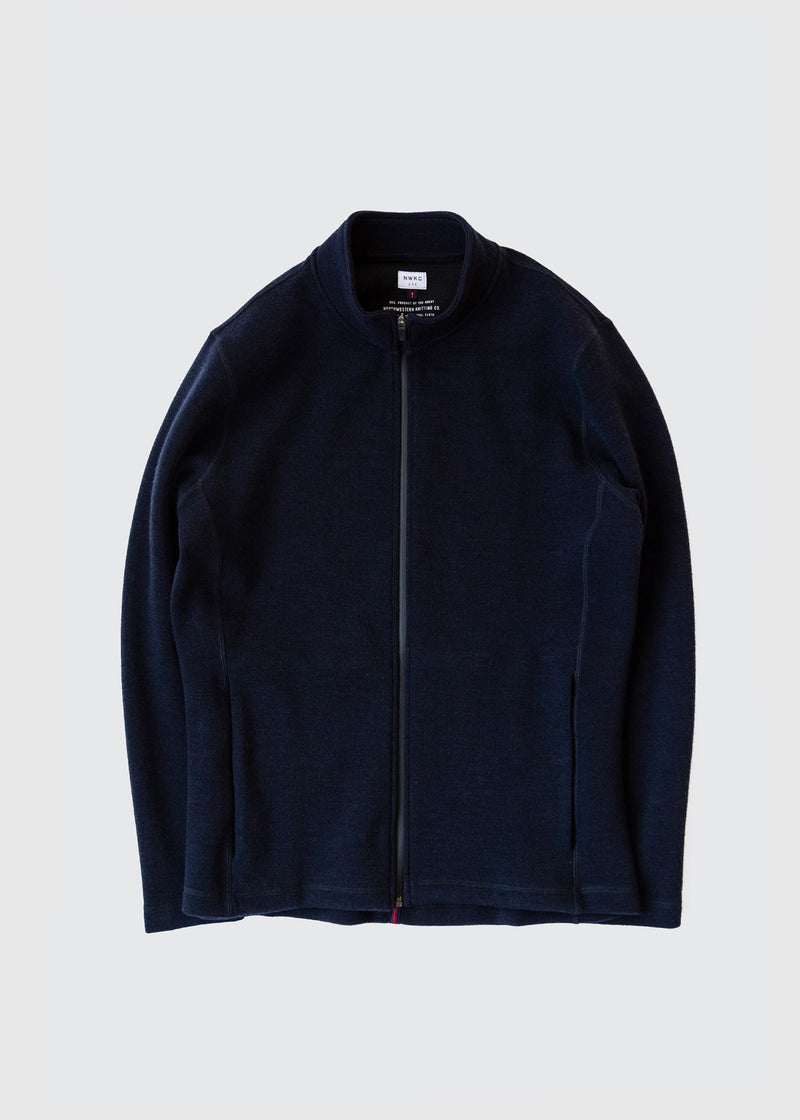 202 - NYLON COLLAR ZIP - NAVY - Wilson & Willy's - MPLS Neighbor Goods