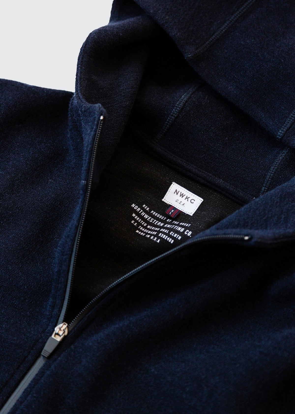 201 - NYLON HOODED ZIP - NAVY - Wilson & Willy's - MPLS Neighbor Goods