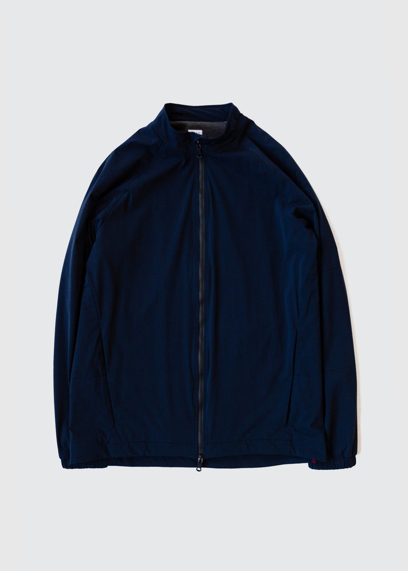 302 - QUILTED COLLAR ZIP - NAVY - Wilson & Willy's - MPLS Neighbor Goods