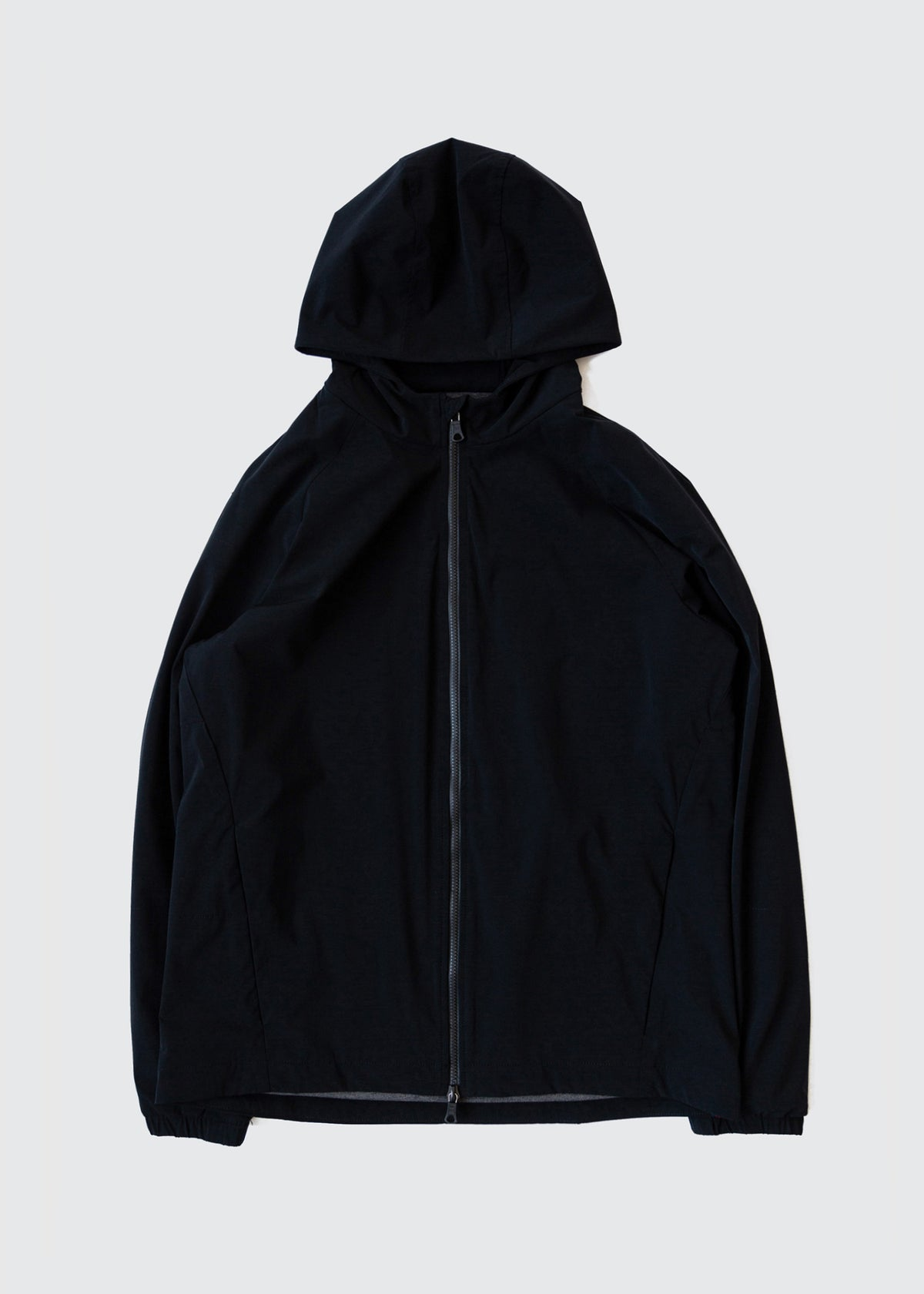 301 - QUILTED HOODED ZIP - BLACK - Wilson & Willy's - MPLS Neighbor Goods
