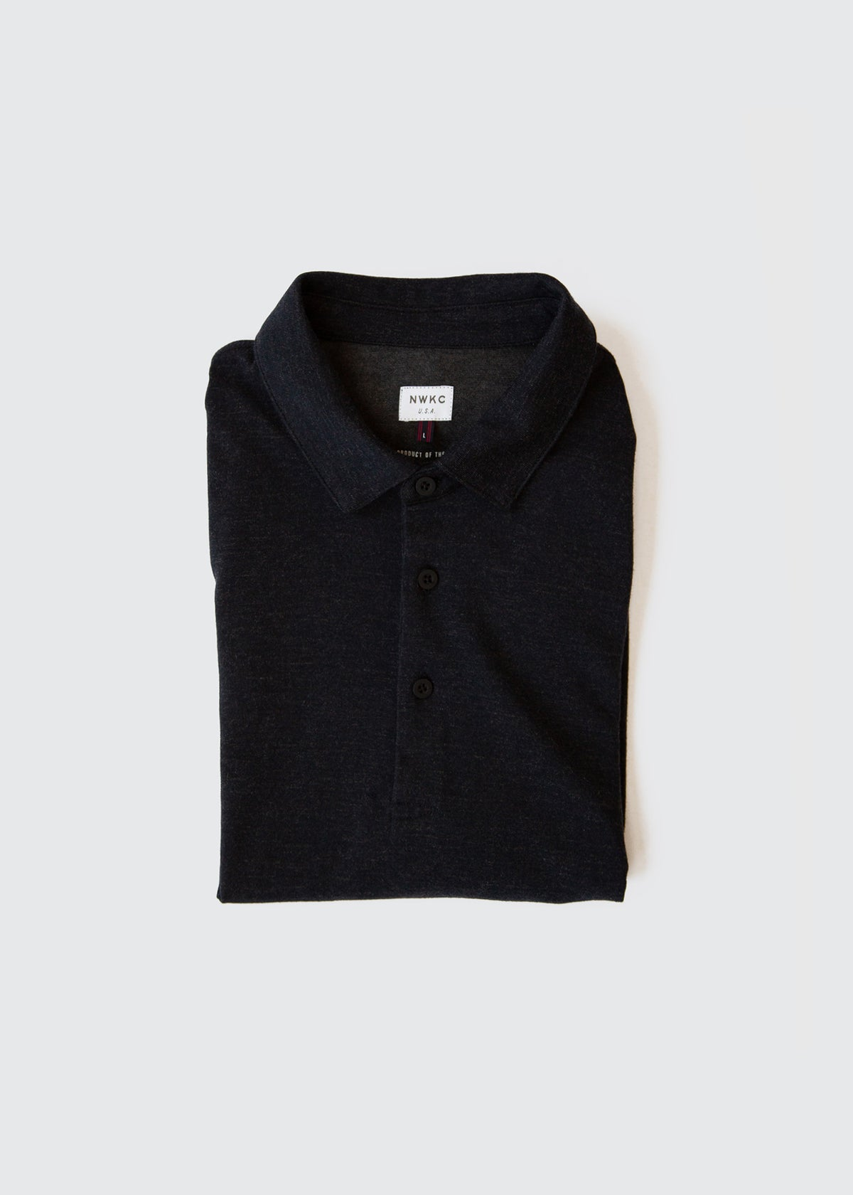 103 - SS POLO - NAVY - Wilson & Willy's - MPLS Neighbor Goods