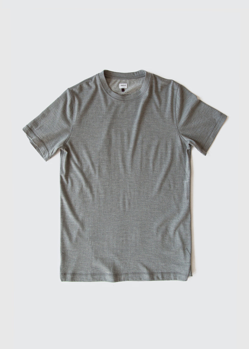 101 - SS TEE - GRAY - Wilson & Willy's - MPLS Neighbor Goods