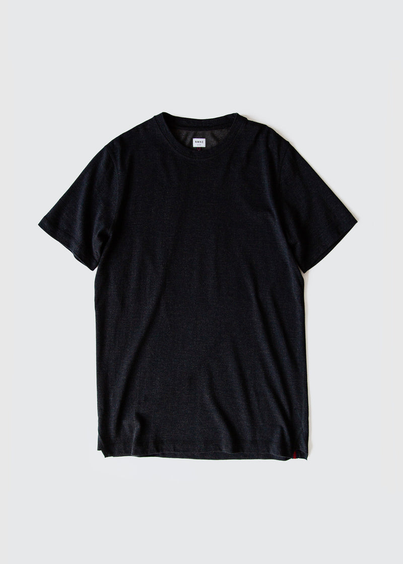 101 - SS TEE - NAVY - Wilson & Willy's - MPLS Neighbor Goods