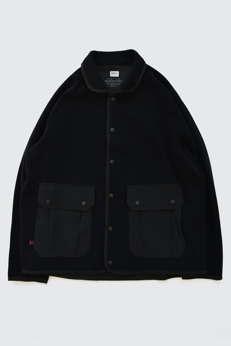 EXP001 - SCOOP JACKET - BLACK