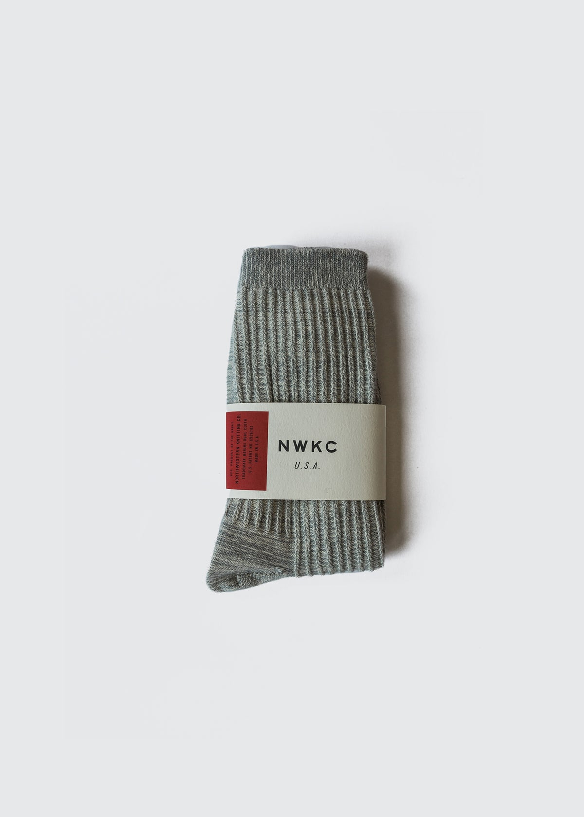A01 - SOCK - GRAY - Wilson & Willy's - MPLS Neighbor Goods