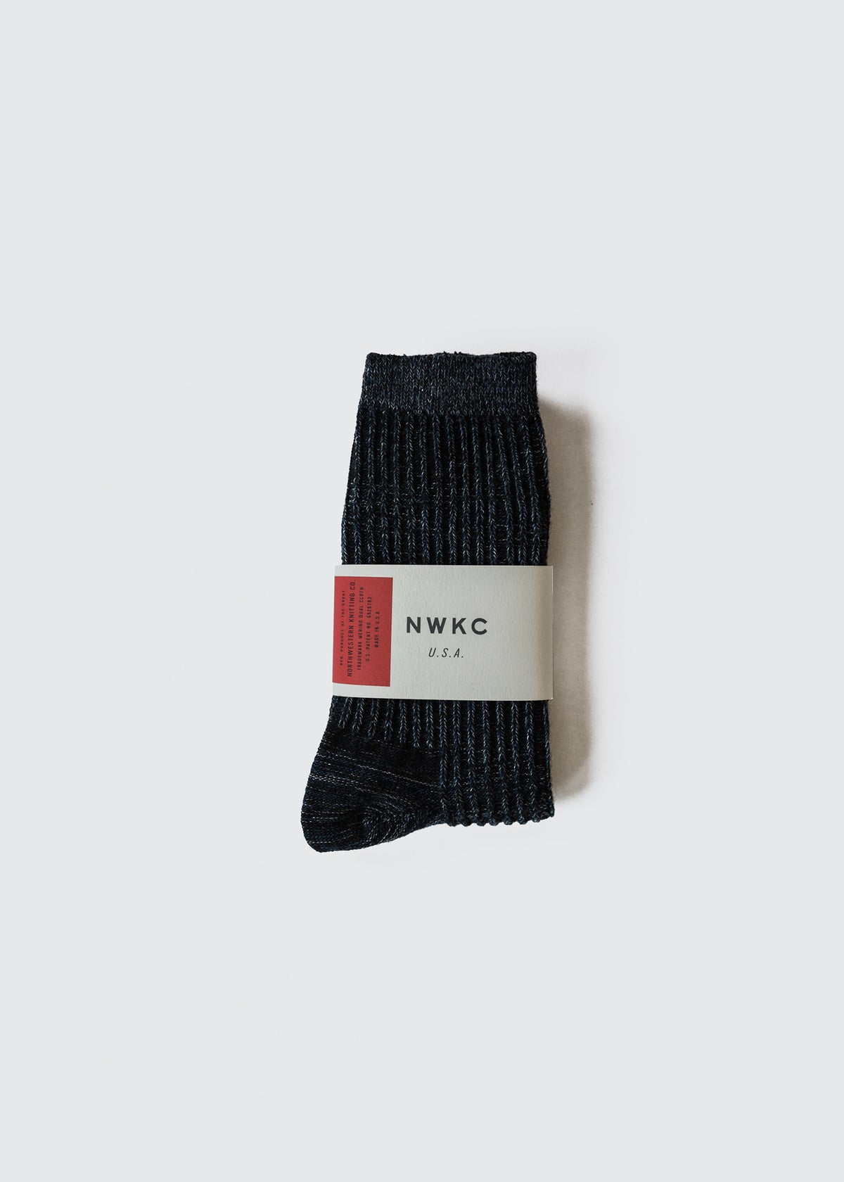 A01 - SOCK - NAVY - Wilson & Willy's - MPLS Neighbor Goods