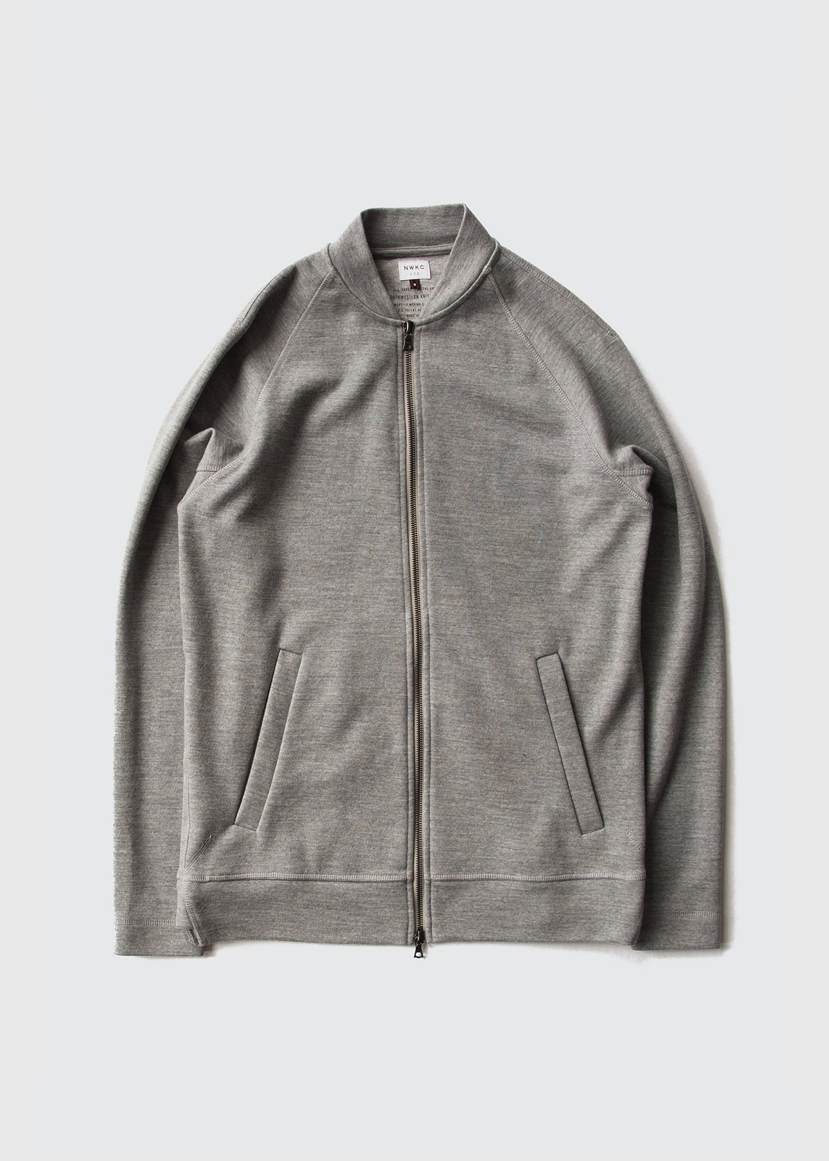 005 - VARSITY - FEATHER GRAY - Wilson & Willy's - MPLS Neighbor Goods