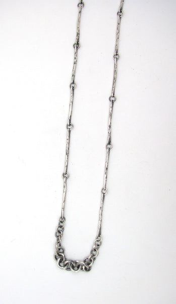 Thin Hammered Sticks Chain