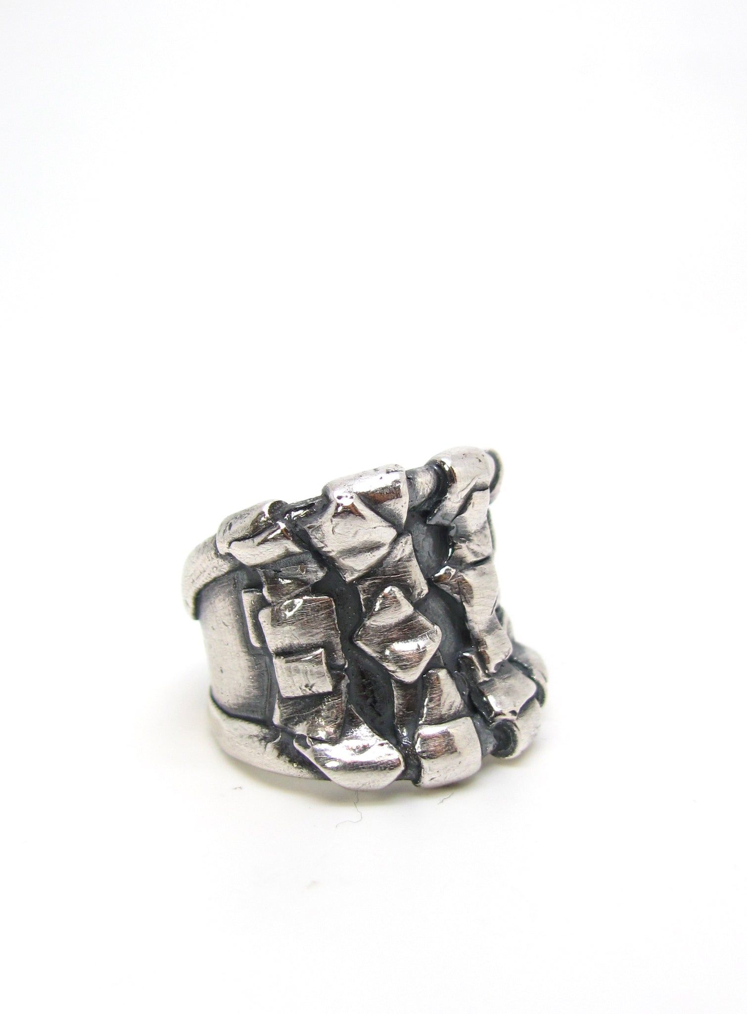 The Woven Patchwork Ring