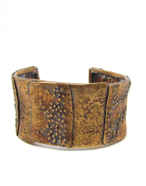 The Leopard Cuff Patchwork Style
