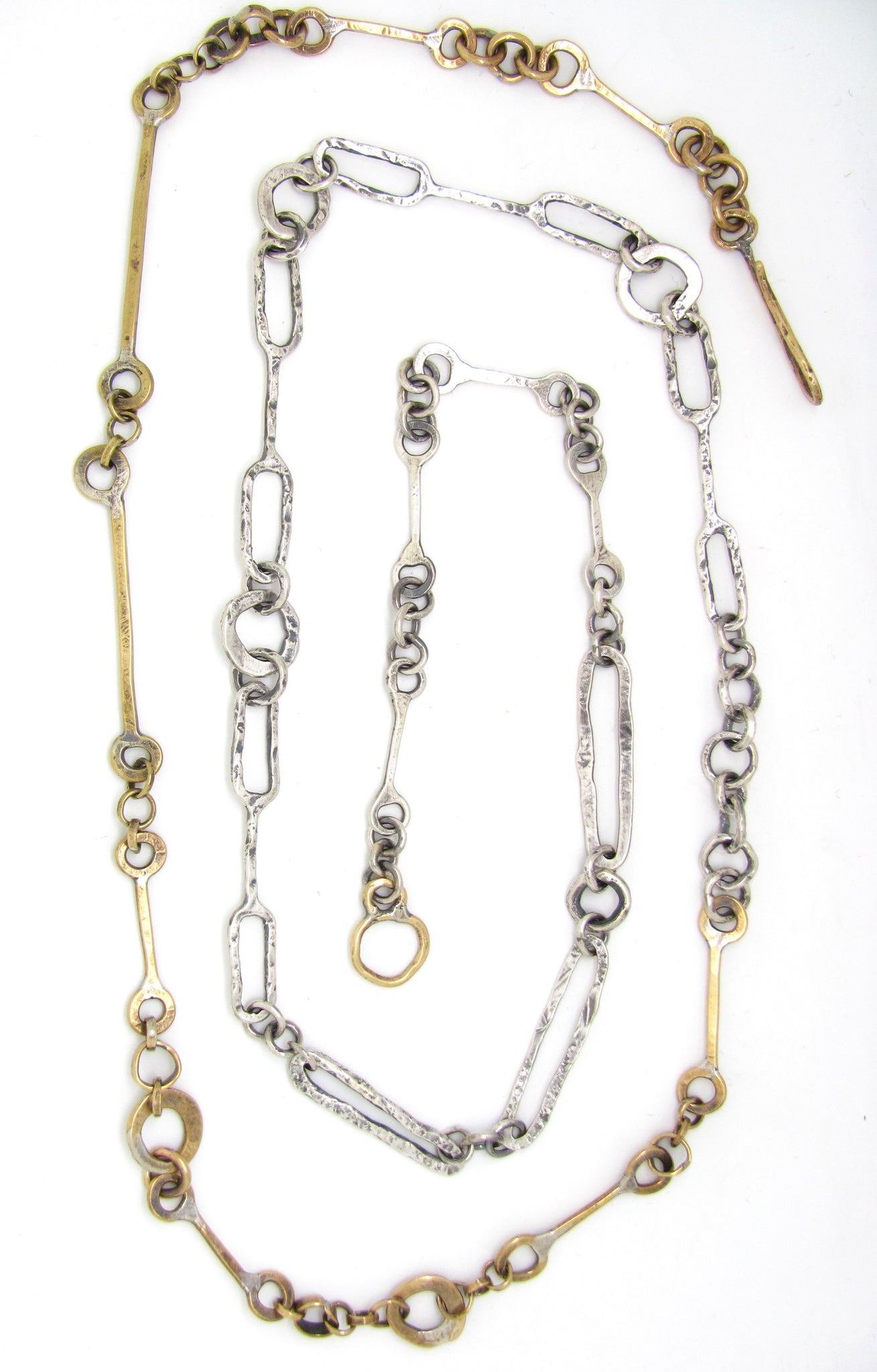 Half and Half Brass and Silver Mix